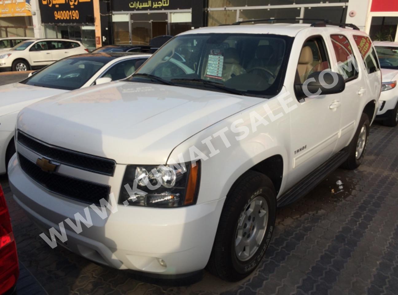 16493b760 شفروليه تاهو - أبيض / 2014 - للبيع في كويت سيل